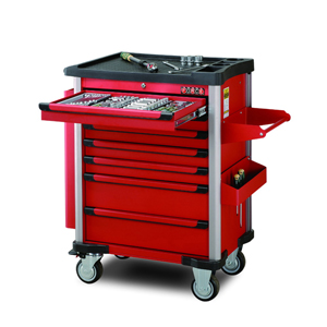 Picture of PRACTICAL 7 DRAWER TROLLEY WITH 220 TOOL