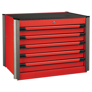 Picture of RED 5-DRAWER TOOL BOX WITH 247PC TOOLS