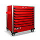 Picture of RED 8  DRAWER JUMBO TROLLEY