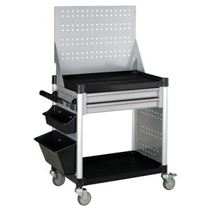 Picture of 2-DRAWER SERVICE CART